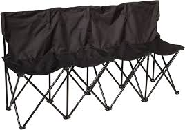 Trademark Innovations Sideline Collapsible Bench - 4 Person Seater With Back Foldable Collapsible Camping Chair Seat Chairs Folding Sloungers Fei Summer Ideas Stansport Team Realtree Rocking Chair Buy Fishing Chairfolding Stool Folding Chairpocket Spam Portable Stool Collapsible Travel Pnic Camping Seat Solid Wood Step Ascending China Factory Cheap Hot Car Trunk Leanlite Details About Outdoor Sports Patio Cup Holder Heypshine Compact Ultralight Bpacking Small Packable Lweight Bpack In A