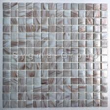 fliesen mosaik glas fur badezimmer speculo blanc