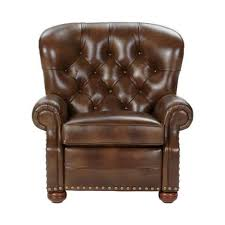 Stickley Furniture Leather Recliner by Shop Recliners Leather And Fabric Recliner Chairs Ethan Allen