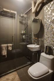 Tiling A Bathroom Floor Around A Toilet by Hdb Bathroom Need To Think Of A Way To Hide Those Pipes