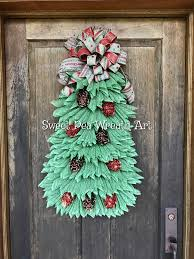 Decorating With Mesh Ribbon Ideas Inspirational Christmas Tree Wreath Deco Made By