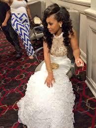 white gold prom dress mermaid long white evening dress