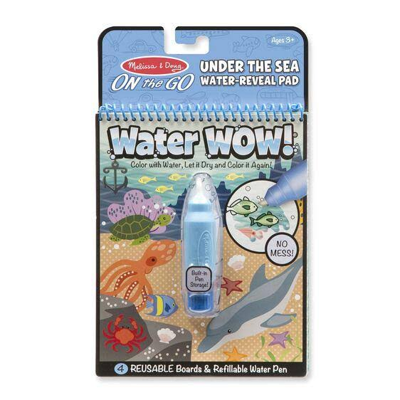 Melissa and Doug Water Wow! Under the Sea Water Reveal Pad