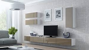 wohnwand vigo 13 anbauwand wohnzimmer möbel hochglanz