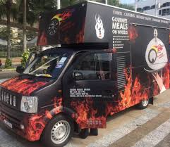 Food Truck Malaysia | Food Truck KL | Flaming Wheels Eleavens Food Truck Boasts Special Vday Menu Gapers Vibiraem How Much Does A Cost Open For Business Roadblock Drink News Chicago Reader 5 Ideas For New Owners Trucks Can Be Outfitted To Serve Any Type Of Item Desired Or Tommy Bahama Stores Restaurants Maui I Converted A Uhaul Into Mobile Buildout From Gasoline Motor Truckhot Dog Cart Manufacturer Telescope Brand Yj Fct02 Mobile Fast Food Cart Hot Dog Truck Tampa Area Trucks Sale Bay Toronto Best Block Drive