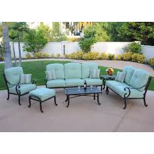 Cast Aluminum Outdoor Sets by Athena Patio Lounge Furniture Set