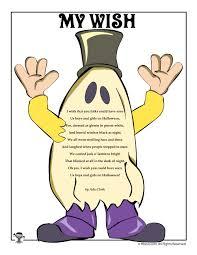 Halloween Acrostic Poems That Rhyme by 100 Halloween Poem Kids Health And Hygiene Activities U0026