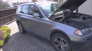 how to replace bulb h7 bmw 3 x3