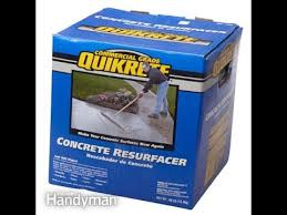 quikrete concrete resurfacer my experience youtube