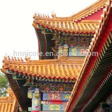 glazed tiles for sale used in buddhist temples with roof