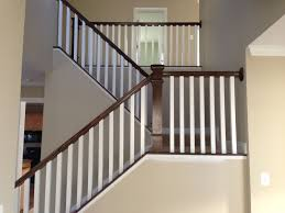 Stairs: Amazing Stair Railings Indoor Stair Handrails Indoor ... Wrought Iron Railing To Give Your Stairs Unique Look Tile Glamorous Banister Railings Outdbanisterrailings Astounding Metal Unngmetalbanisterwrought Deckorail 6 Ft Redwood Rail Stair Kit With Black Alinum Banister Interior Kits And Kitchen Design Glass Staircase Railings Types Designs Modern Lowes Spindles Indoor Ideas Decorations Interior Kit Lawrahetcom Model Remarkable Picture