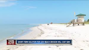 100 Million Dollar Beach 4 Million Dollar Lido Renourishment Project Approved By City