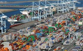 100 Shipping Containers California Busiest US Port Sets AllTime Cargo Record In 2018 Voice