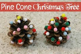 Pine Cone Christmas Tree Ornaments Crafts by Pine Cone Christmas Tree Craft Grandma Ideas