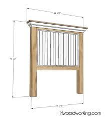 Ana White Headboard Diy by Twin Headboard Dimensions Ana White Build A Reclaimed Wood