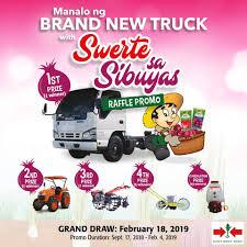 100 Seedling Truck Get A Chance To Win An Isuzu QKR77 EastWest Seed