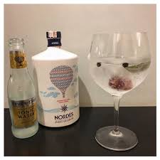 100 Nordes GT Made With Gin Fevertree Tonic Red Grapes Bay