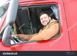 100 Looking For Truck Drivers Male Driver Out Window Stock Photo Edit Now
