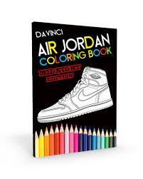 Air Jordan Coloring Book Midnight Edition
