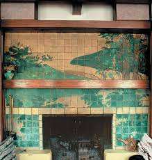 Batchelder Tile Fireplace Surround by Architecture Of Art Tile Old House Restoration Products