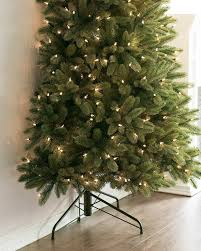 9 Ft Pre Lit Multicolor Christmas Tree by Fifth Avenue Flatback Artificial Christmas Tree Balsam Hill