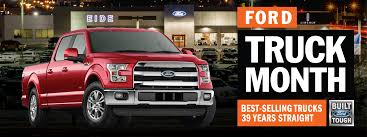 100 Truck Month Ford Has Arrived At Eide Ford