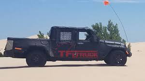 Jeep Wrangler Pickup Truck Spotted Testing At Silver Lake Sand Dunes ... Jeep Truck 2016 Pictures Cars Models 2017 New 2019 Concept Redesign And Review Release Car Mighty Fc Autoweek Drive Youtube Bossier Chrysler Dodge Ram Latest Concept Chopped Renegade Wrangler Pickup Spotted Testing At Silver Lake Sand Dunes Elegant Next Generation Could Get Great Pic By James Turnbull Trailstorm Photos Moab Mania 7 Concepts 2005 Hurricane Spy Shoot
