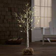 4 Ft Pre Lit Christmas Tree by Apothecary 4 Foot Birch Pre Lit Christmas Tree Jcpenney