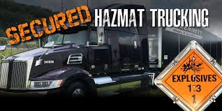 Secure Hazmat Trucking Services -