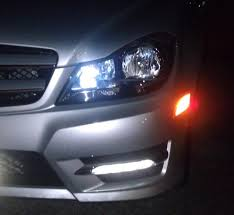 so i just got my new led parking lights and mbworld org forums