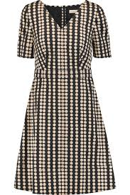 jada printed stretch cotton dress tory burch us the outnet