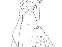 Barbie Coloring Pages Free Printable For