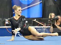 Lsu Gymnastics Hip Hop Floor Routine by Utah U0027s Lia Del Priore Competes In The Floor Exercise During The