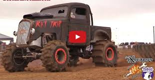 100 Rat Rod Semi Truck RAT TRAP 4WD RAT ROD MUD RACER Speed Society