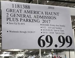Californias Great America Halloween Haunt 2015 by Great America Halloween Haunt Ticket Prices