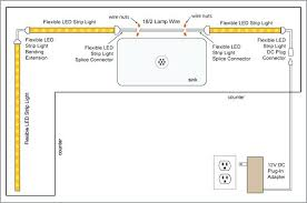 how to install kitchen cabinet lighting uk direct wire led