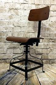 Industrial Office Chairs Leather 125 Vintage Mid Century Modern ...