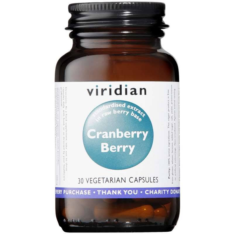 Viridian Cranberry Berry Extract Vegetarian Capsules