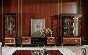 wohnwand vitrine konsole schrankwand glasvitrinen wohnzimmer barock rokoko e68