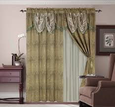 Lace Priscilla Curtains With Attached Valance by Compact Attached Valance 107 Velcro Attached Valances Dover