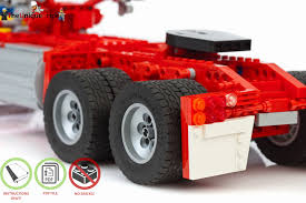 100 Lego Truck Instructions Lego Kenworth Truck Instructions Wo