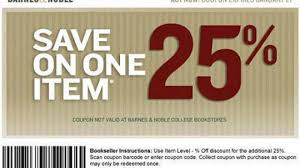 Barnes And Noble Coupon Code For 25% Off One Item! Buybaby Does 20 Coupon Work On Sale Items Benny Gold Patio Restaurant Bolingbrook Code Coupon For Shop Party City Online Printable Coupons Ulta Cologne Soft N Dri Solstice Can You Use Teacher Discount Barnes And Noble These Are The Best Deals Amazon End Of Year Get My Cbt Promo Grocery Stores Orange County Ca Red Canoe Brands Pier 1 Email Barnes Noble Code 15 Off Purchase For 25 One Item