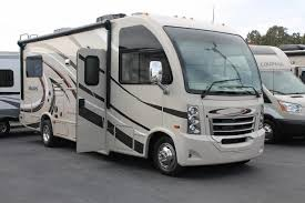 Beautiful 2017 THOR VEGAS 241 SINGLE SLIDE CLASS A MOTORHOME TWIN BEDS CONVERTS