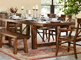 benchwright aaron dining room pottery barn