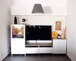 tv wand wohnzimmer kombi weiß lack ikea