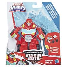 Playskool Heroes Transformers Rescue Bots Heatwave The Fire-Bot ...
