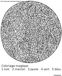 185 Dessins De Coloriage Magique À Imprimer Intérieur Dessin Code