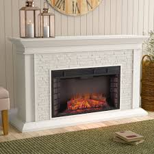 Darby Home Co Simulated Electric Fireplace & Reviews