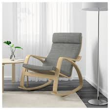 poäng rocking chair finnsta white ikea