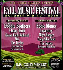 Fall Music Festival BR Cohn Sonoma